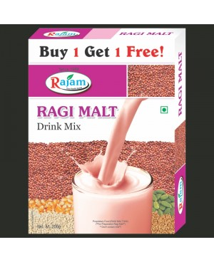 Rajam Ragi Malt Mix 200g Box