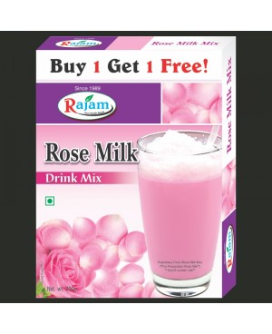 Rajam Rose Milk Mix 200g Box