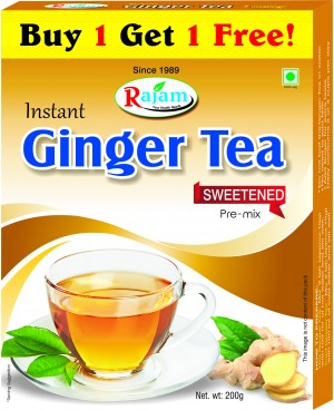 Rajam Ginger Tea 200g Box