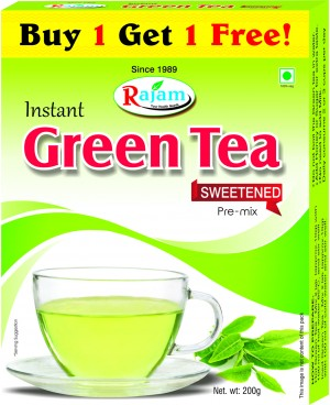 Rajam Green Tea 200g Box