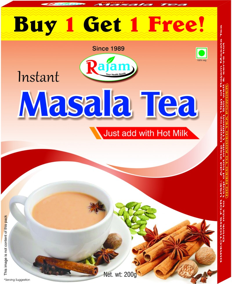 Rajam Masala Tea 200g Box