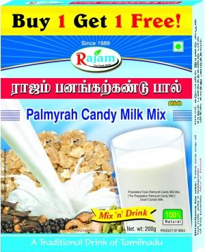 Rajam Panakarkandu Paal Powder 200g Box